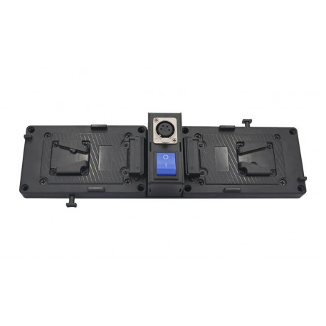FXLION - Plate for ARRI Skypanel S60/S30/S120get 24V output by 2*V-lock battery