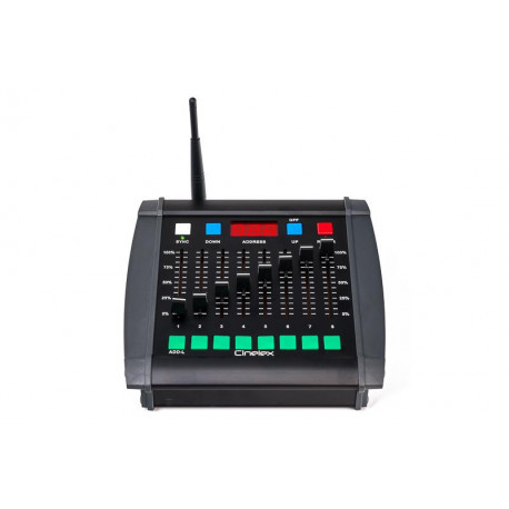 CINELEX - Portable Wireless DMX Control Desk