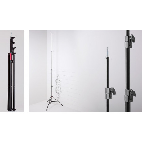 Muraro - Hight Master Stand Steel Black