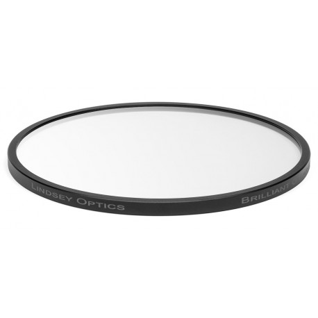 "L-45-CLEAR-ARLINDSEY OPTICS - 4.5"" Round Brilliant Clear with Anti-Reflection Coating"