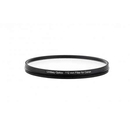 L-112-CLEAR-AR-CANONLINDSEY OPTICS - 112mm Clear Filter for Canon Cine-Servo Lenses