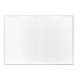 "L-4565-CLEAR-ARLINDSEY OPTICS - 4"" x 5.650"" Brilliant Clear with Anti-Reflection Coating"