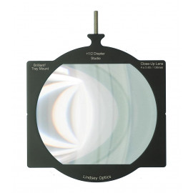 "L-4565-DIOPTER1/2-STLINDSEY OPTICS - 4""x5.65"" +1/2 Diopter Brilliant² Tray Mount Studio Close-Up Lens"