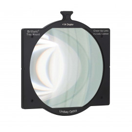 "L-4565-DIOPTER1/4LINDSEY OPTICS - 4""x5.65"" +1/4 Diopter Brilliant² Tray Mount Close-Up Lens"