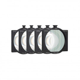 "L-4565-DIOPTER-SETLINDSEY OPTICS - 4""x5.65"" Tray Mount Diopter Set (Set of 5 Tray Mount Diopters)"