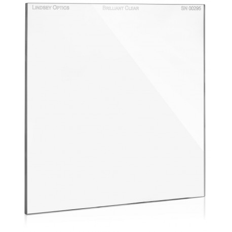 """L-6666-CLEAR-ARLINDSEY OPTICS - 6.6"""" x 6.6"""" Brilliant Clear with Anti-Reflection Coating"""