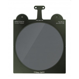 "L-6666-ROTAPOLLINDSEY OPTICS - Brilliant² Rota-Pol Circular Polarizer 6.6""x6.6"" / 161mm"