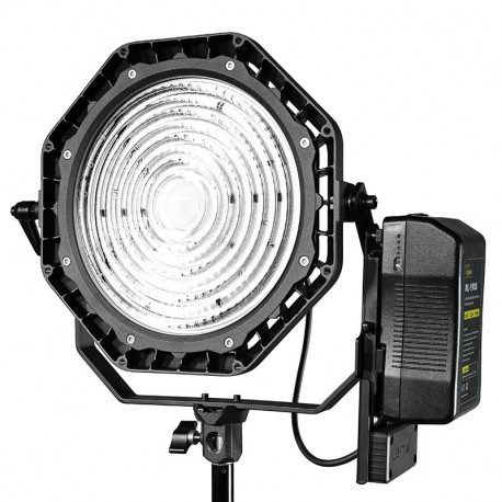 LUXED-SLIGHTSTAR - LUXED-SLED Bi-Color Spotlite 180W Lamphead AC&DC | DMX