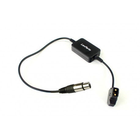 DTXLR12VLANPARTE - 4-pin xlr DC power adapter cable