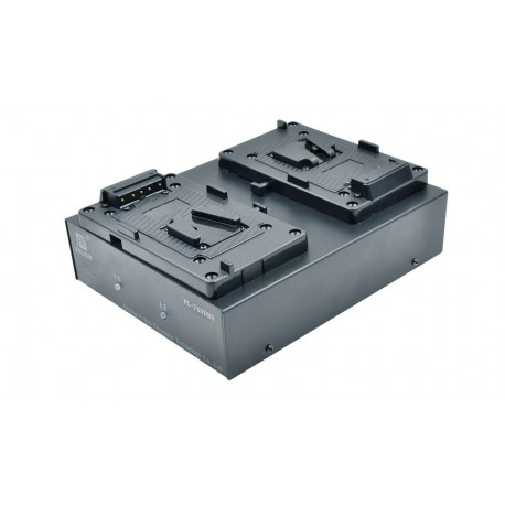 FXLION - Dual-channel deck charger for 26V battery