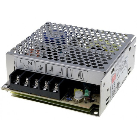 Mean Well - Power supply 12V-50W-4,2A RS-50-12