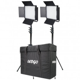 LEDGO - PANNEAU À LED DAYLIGHT 1200 5600K 2KIT+T