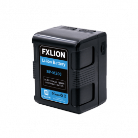 FXLION - V-mount li-ion Compact Square battery 14.8V 198Wh