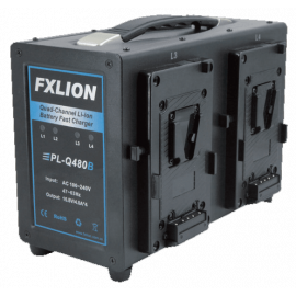 FXLION - Quad-channel Deck Li-ion Battery Fast Charger
