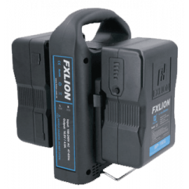 FXLION - Dual‐channel V‐mount battery fast charger
