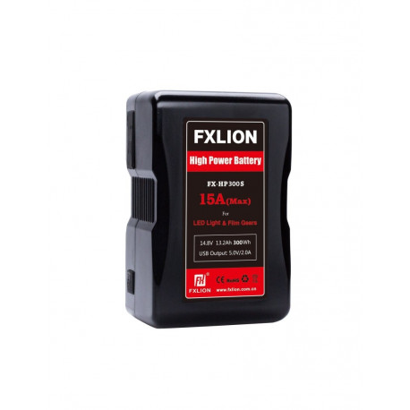 FXLION - V-lock High power Battery14.8V,300WH | 15A high drawing battery | with USB,D-TAP